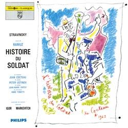 IGOR STRAVINSKY Histoire du soldat vinile LP